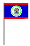 BELIZE - HAND WAVING FLAG (MEDIUM)